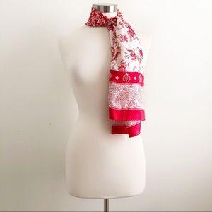 Adrienne Landau | Vintage Silk Floral Scarf